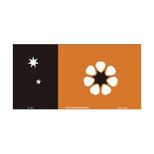 Flags of Australia - NT Flag Tin Sign (30cm x 15cm)