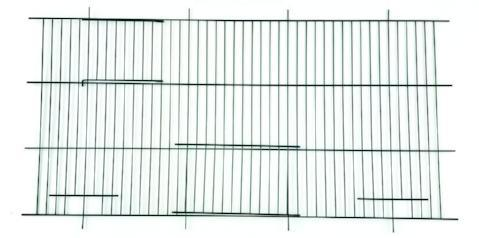 "Canary Cage Fronts - 12"" x 24""-Package Pets"