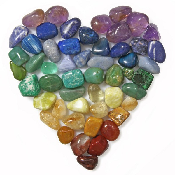 Stones of Love:  Gemstones and Minerals That Have the Healing Energy of Love