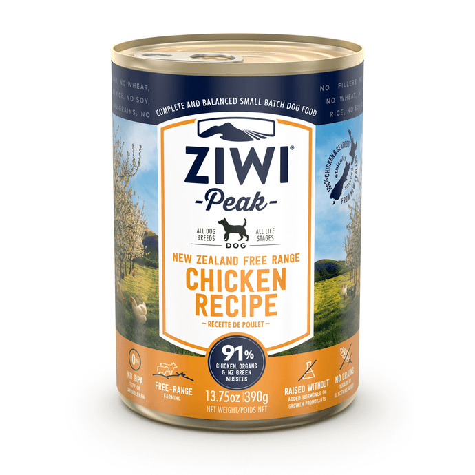 Ziwi Peak Moist Free-Range Chicken Cans For Dogs
