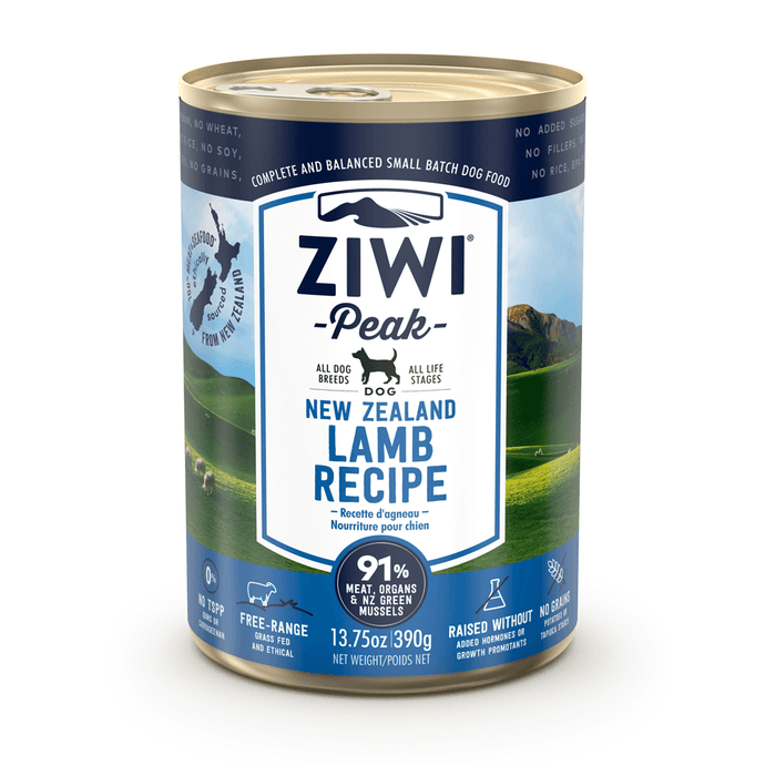 Ziwi Peak Moist Lamb Cans For Dogs