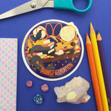 Wizard Class Sticker Pack - DELUXE VINYL - Hand Over Your Fairy Cakes - hoyfc.com