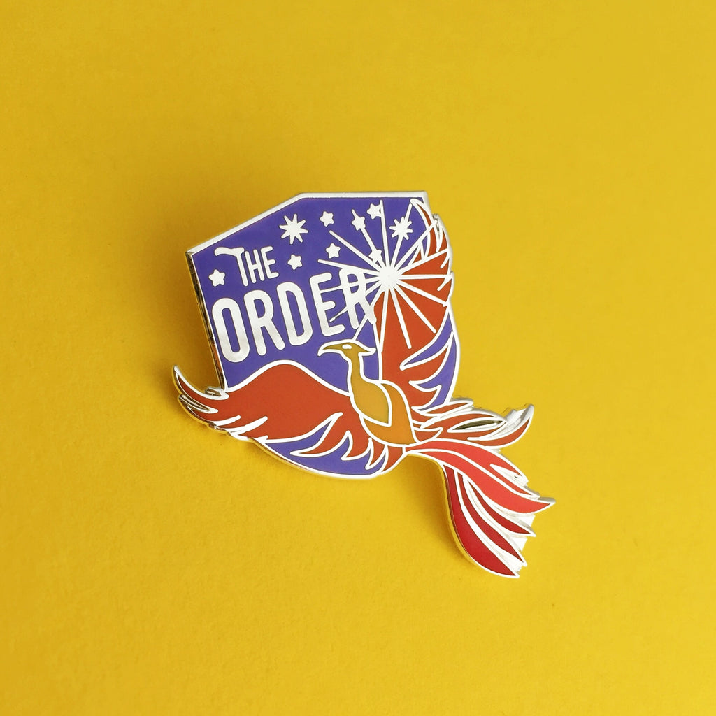The Order of the Phoenix Enamel Pin - Hand Over Your Fairy Cakes - hoyfc.com