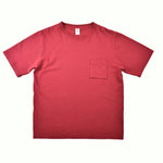 JACKMAN Pocket T Shirt Cardinal