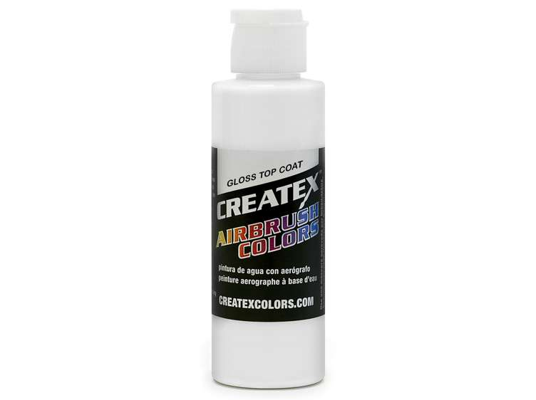 Createx Colors Airbrush Gloss Top Coat 5604-04 Paint - 4 oz - mixwholesale.com