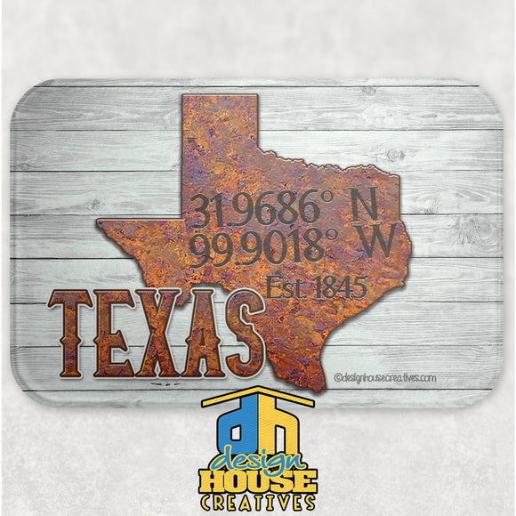 Texas Glass Cutting Board
