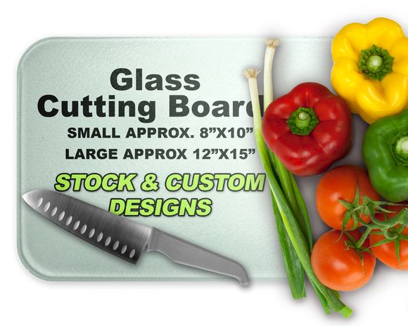 DHC Custom Glass Cutting Boards