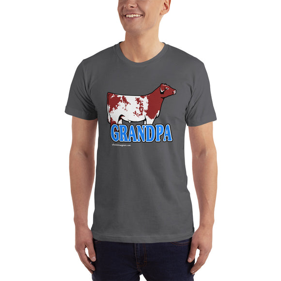 Grandpa Livestock Graphic T-shirt