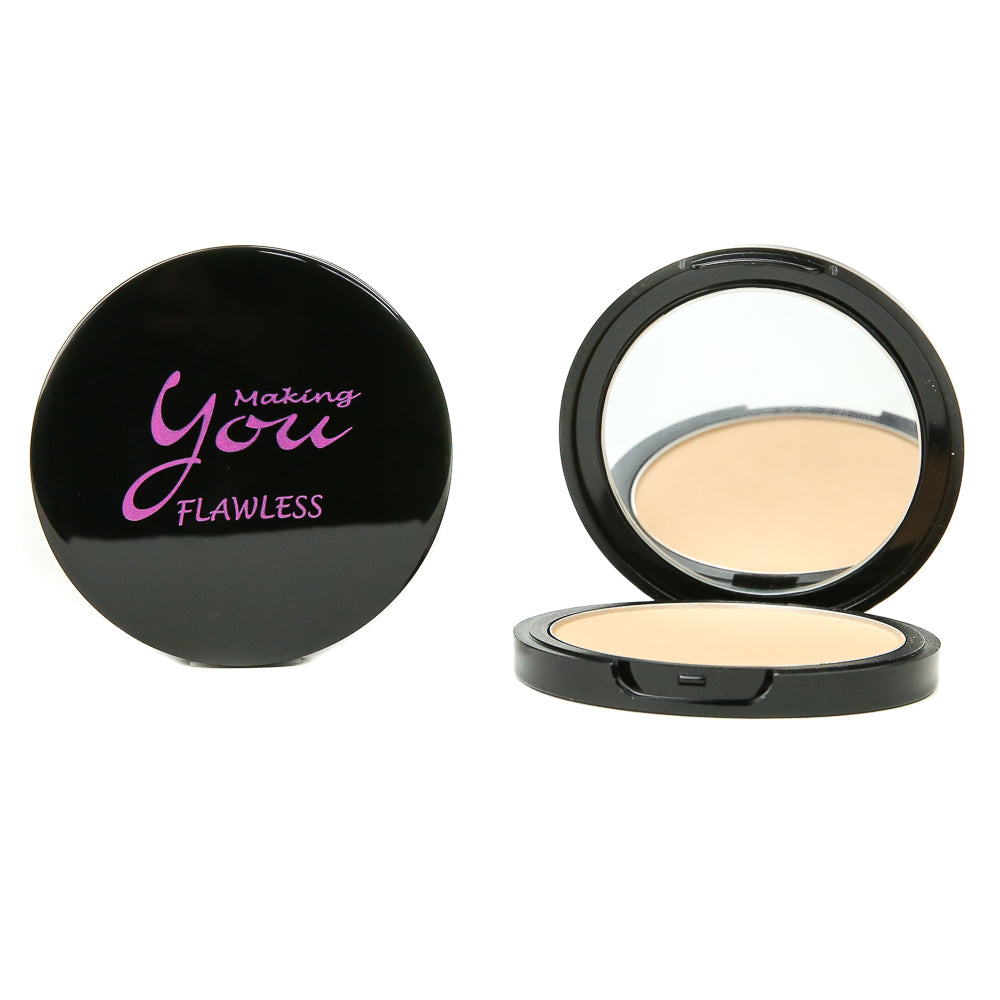 "Flawless Pressed Mineral Powder ""Bare Skin"""