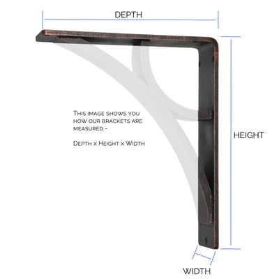 How To Measure Our Corbels
