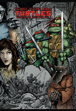 Tmnt Ultimate Collection TP 01