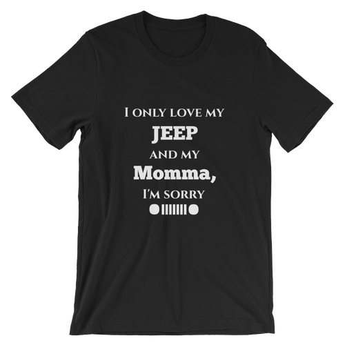 Only Love My Jeep Tee