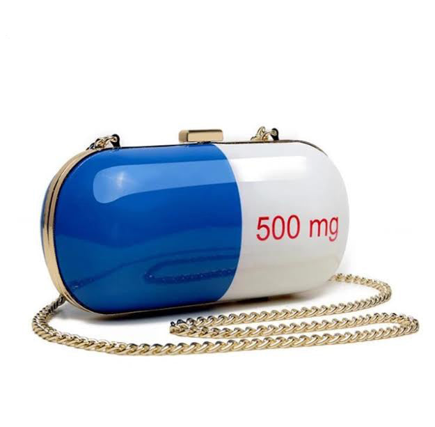500 mg Pill Purse - The Urban Doll
