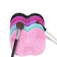 Silicone Cosmetic Makeup Brush Cleaning Mat (6 Colors)