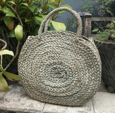 Round Twist Yukk Bag Natural