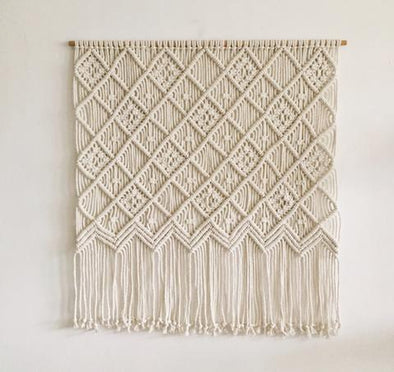 Macrame Wall Hanging Large 006
