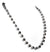 8mm Derek Jeter Black Diamond Long Chain Necklace -16-24 inches - ZeeDiamonds
