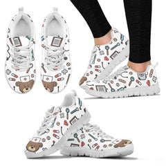 Comfy Nursy Bear Sneakers Women