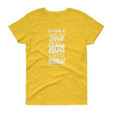 Best Mom short sleeve t-shirt - OnlineGearz