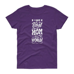 Best Mom short sleeve t-shirt
