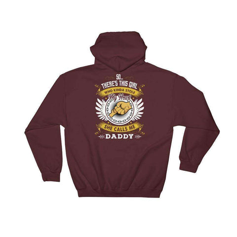 Fist Bump Dad Hooded Sweatshirt - OnlineGearz