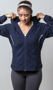 Seattle Lightweight Jacket navy front