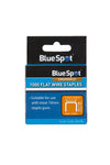 BlueSpot 1000 Pce 10mm Flat Wire Staples - West Kent Motor Factors