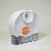 Clemson Tigers Box of 6 Plastic Party Plates