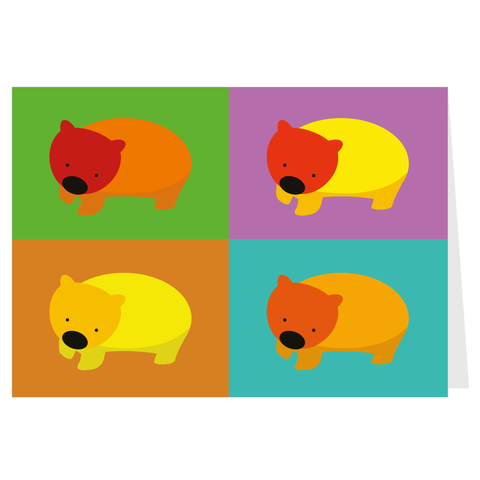 Wombats Card