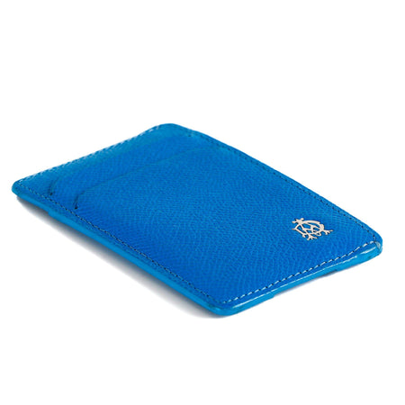 Dunhill Blue Leather Card Holder