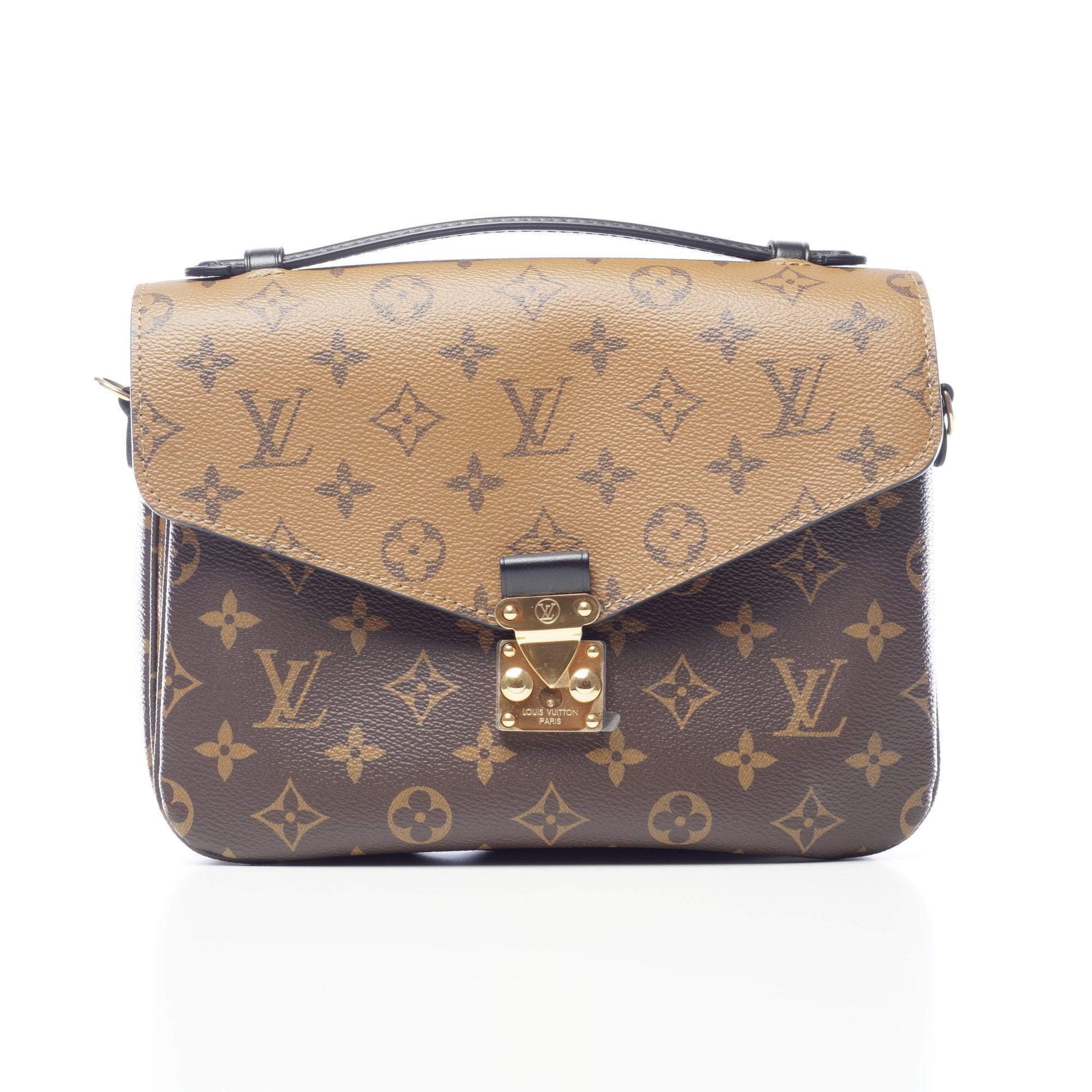 Louis Vuitton Monogram Reverse Canvas Pochette Metis