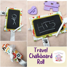 Mini Travel Chalkboard Roll - HarveysToyShed