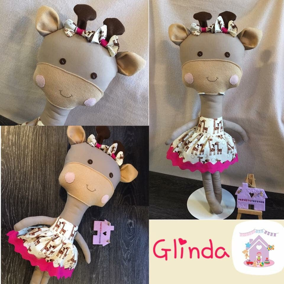 Glinda the Giraffe - HarveysToyShed