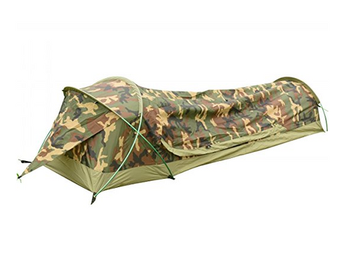 Ultralight Waterproof Bivy Camo Tent by Geertop - 1 Person