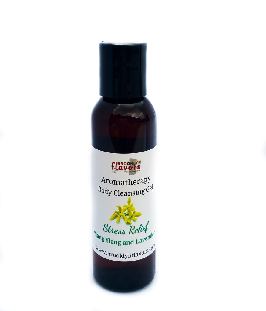 Brooklyn Flavors Aromatherapy Body Cleansing Gel Stress Relief