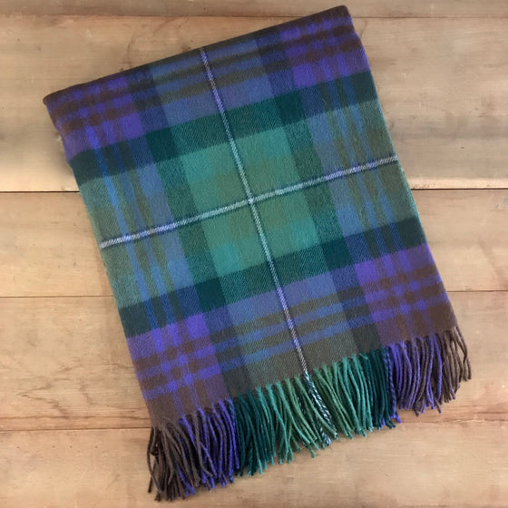 Scottish Tartan Throw - Isle of Skye