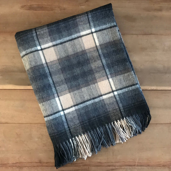 Scottish Lambswool Throw - Tullynessie