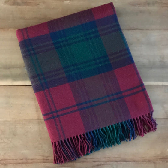 Scottish Tartan Throw - Lindsay Modern