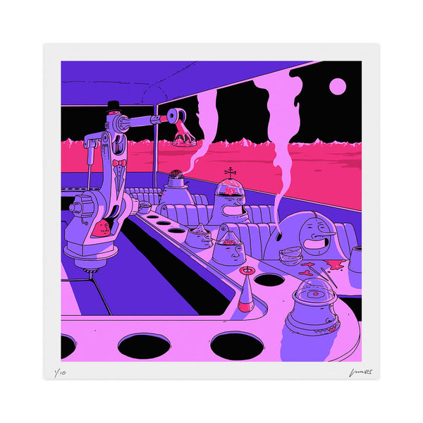 """Sushi: 2300"" Limited Print"