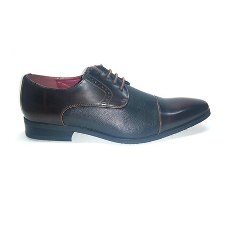Formal Shoe Lace Up - Brown
