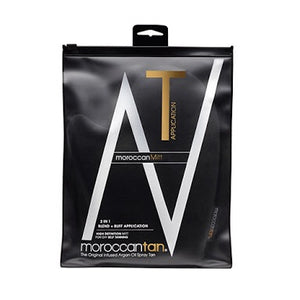 Moroccan Tan | 2 in 1 Tan Blend + Buff Mitt - Glamour Skin & Body