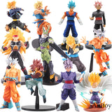 Dragon Ball Z Action Figure BWFC Goku DXF Black Zamasu Vegetto Saiyan Action Figures with Free  a Keychain - Shopichic