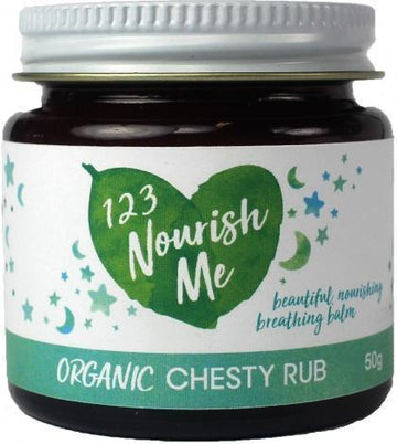 123 Nourish Me Chesty Rub Balm for Kids 60ml New