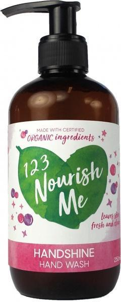 123 Nourish Me Handshine Hand Wash Pump 250ml