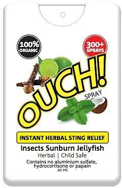 Ouch Organic Instant Herbal Sting Relief Spray 20ml