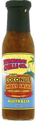 Byron Bay Chilli Fiery Coconut Chilli Sauce 250ml