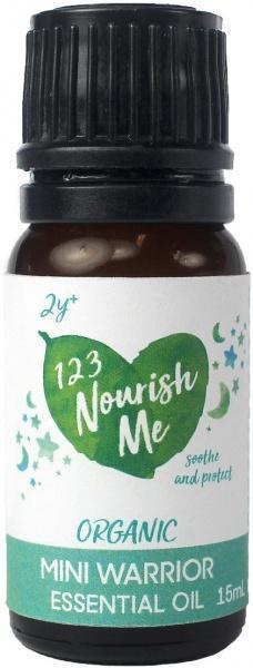 123 Nourish Me Mini Warrior Essential Oil 15g New