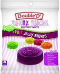 Double D Sugar Free Fruit Jelly Rounds 70g