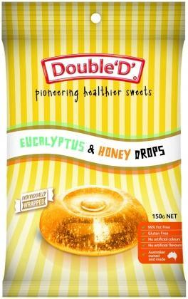 Double D Eucalyptus & Honey Drops 150g