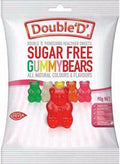 Double D Sugar Free Gummy Bears 90g